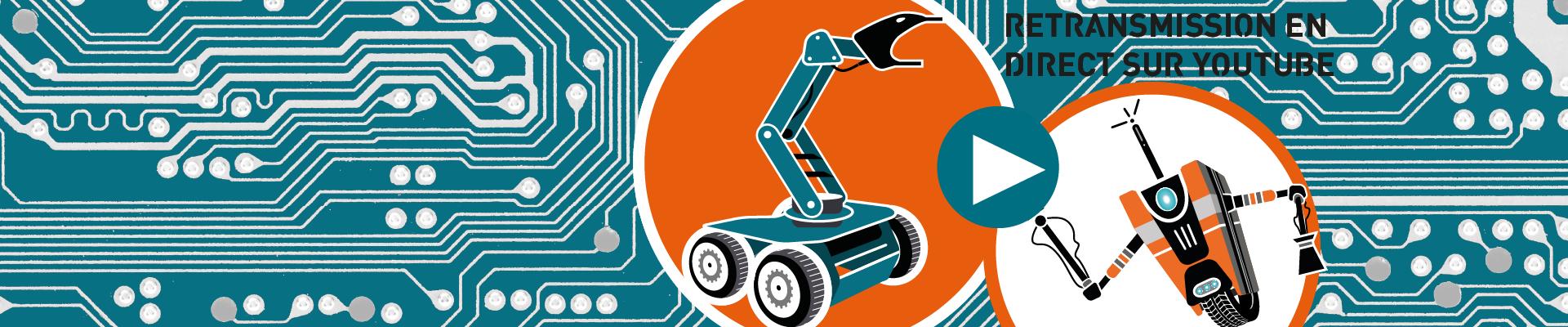 Challenge robotique en live